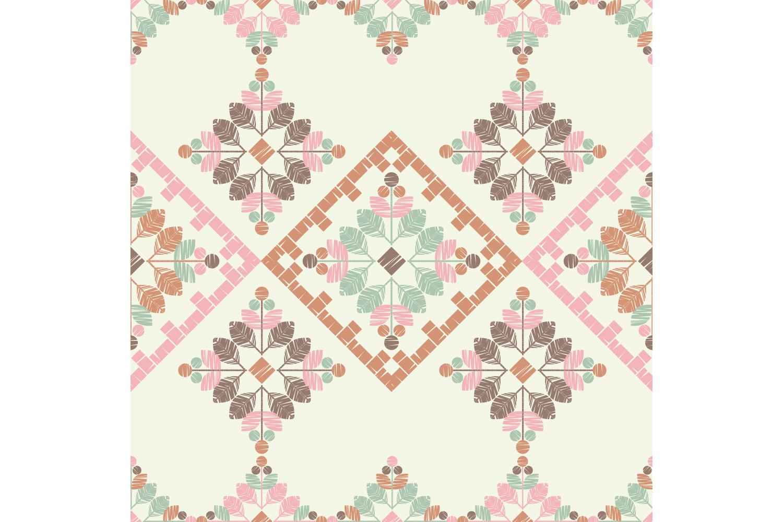 Ethnic boho ornament. Set of 10 seamless patterns. example image 5