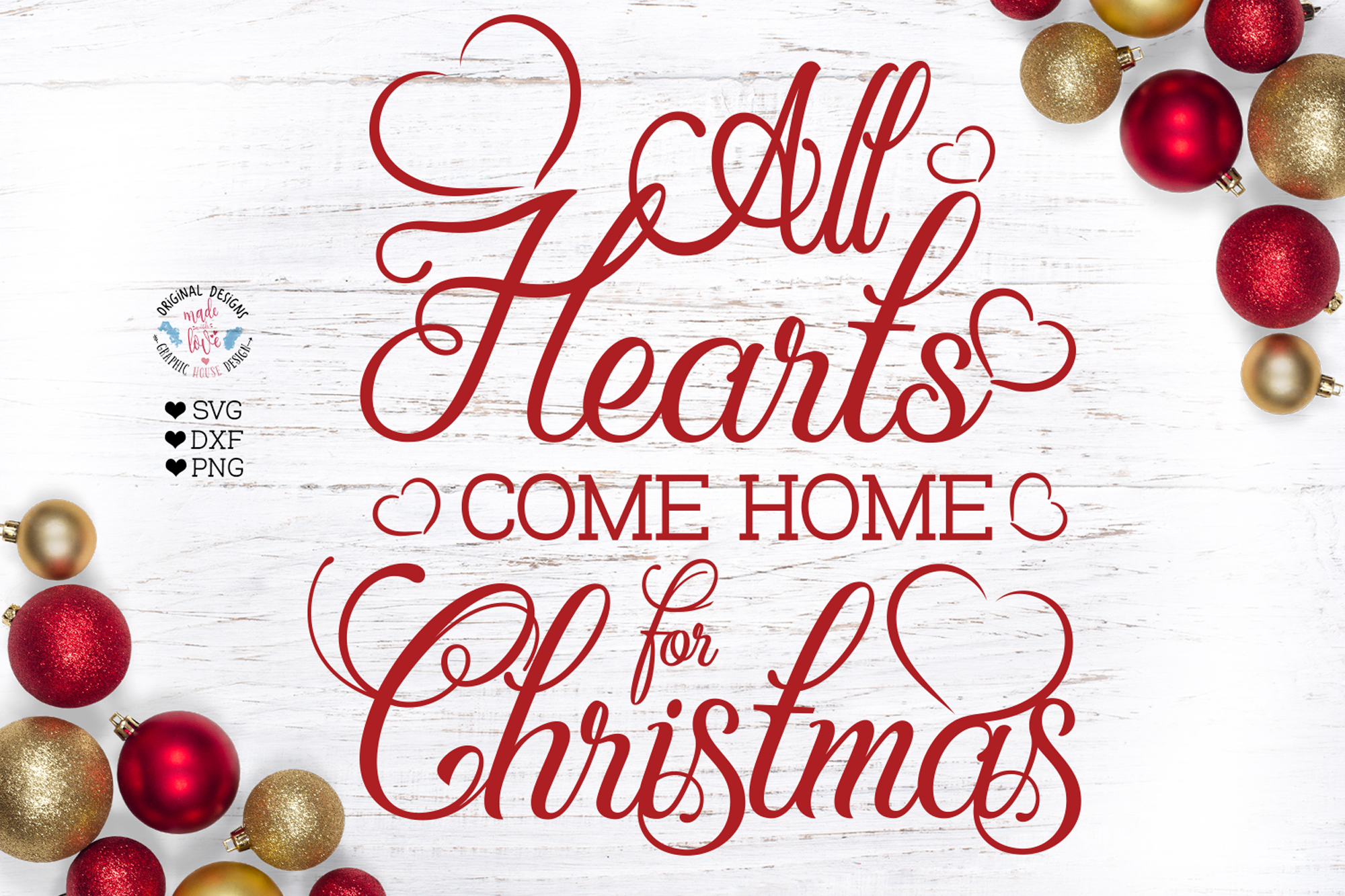 All Hearts come Home For Christmas example image 1