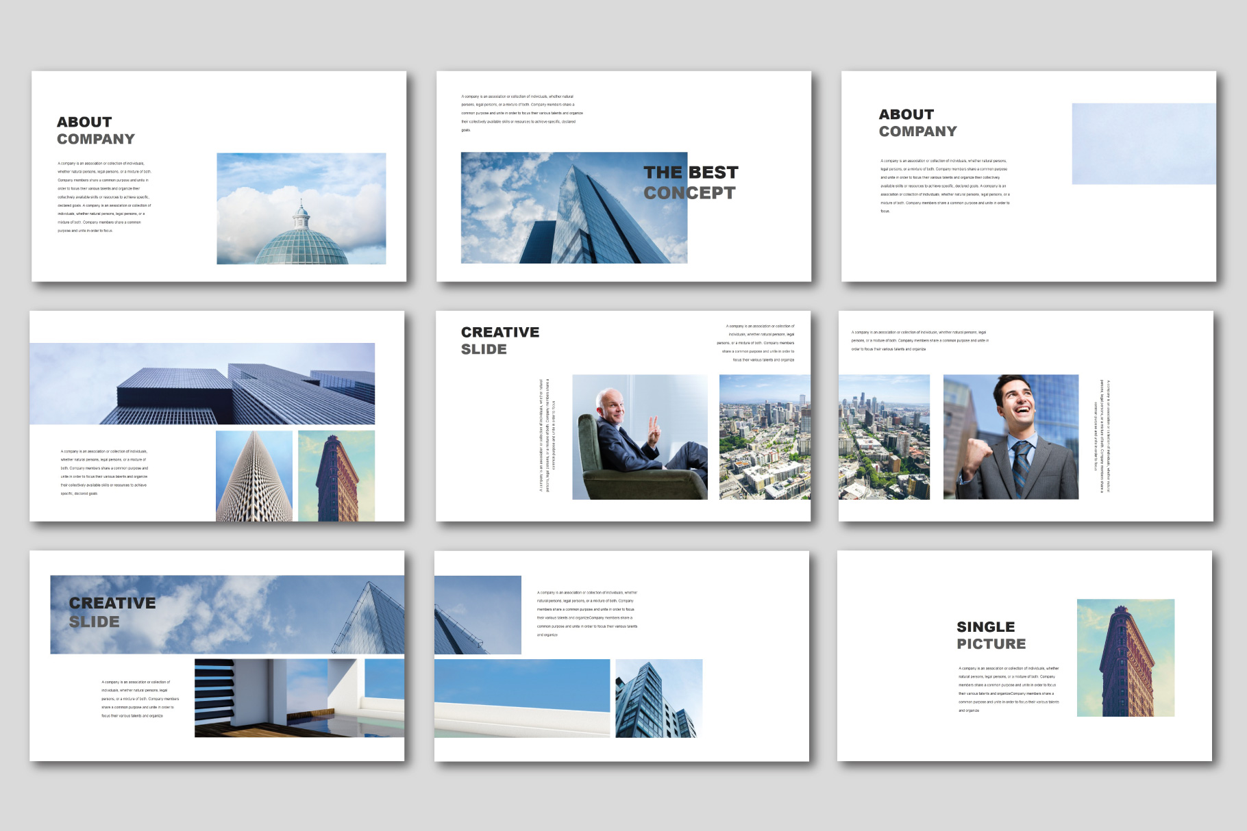 The Best Concept Business PowerPoint example image 3