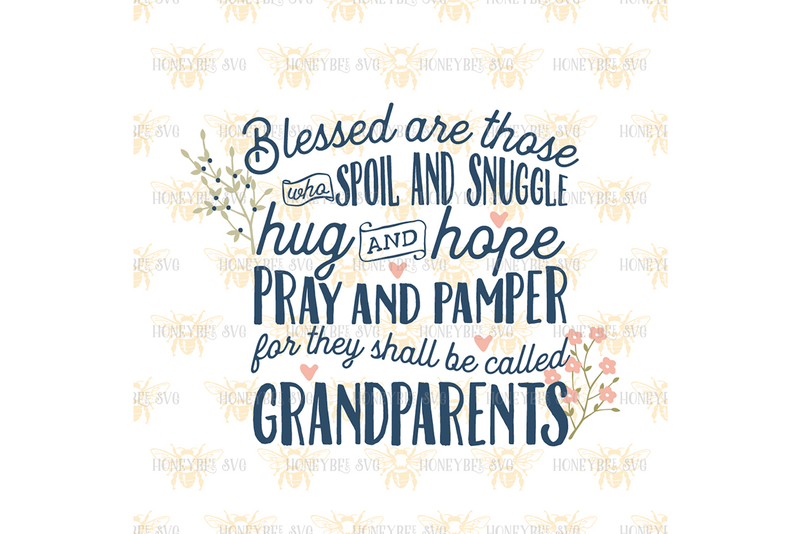 Blessed are Grandparents example image 2