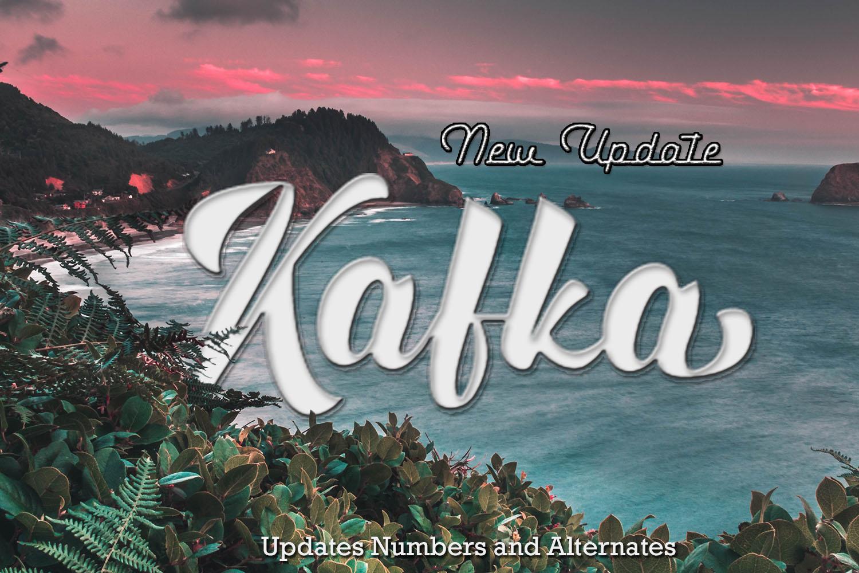 Kafka Typeface Updates example image 1