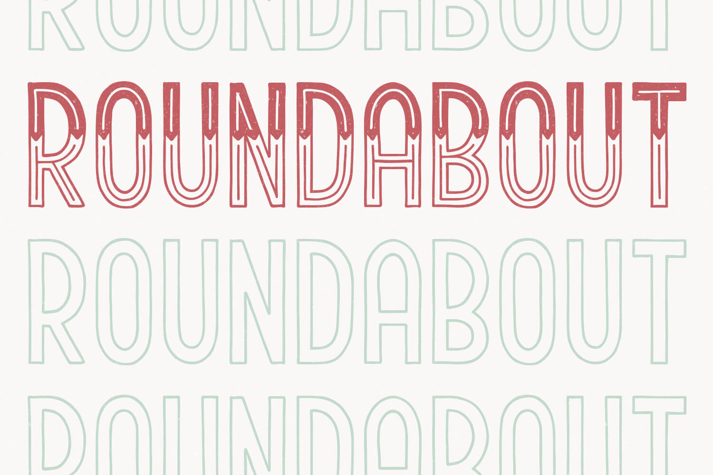 Roundabout example image 1