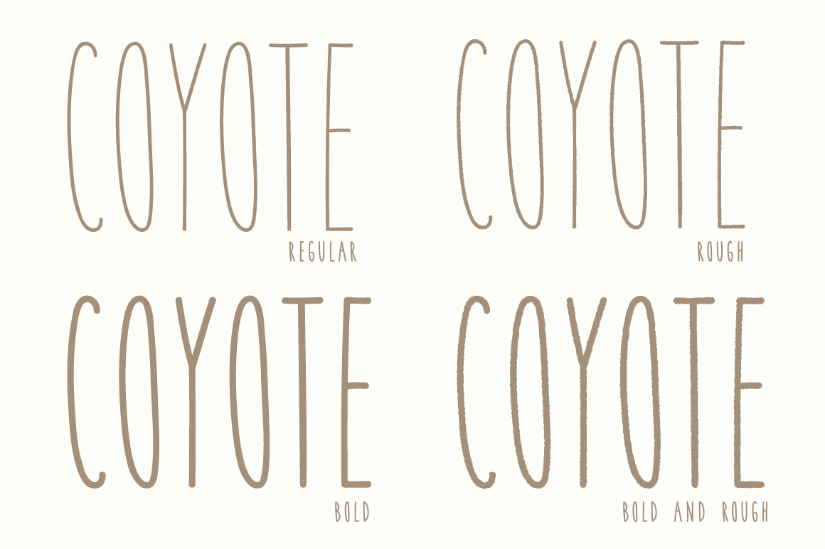 Coyote | A Playful Font example image 6