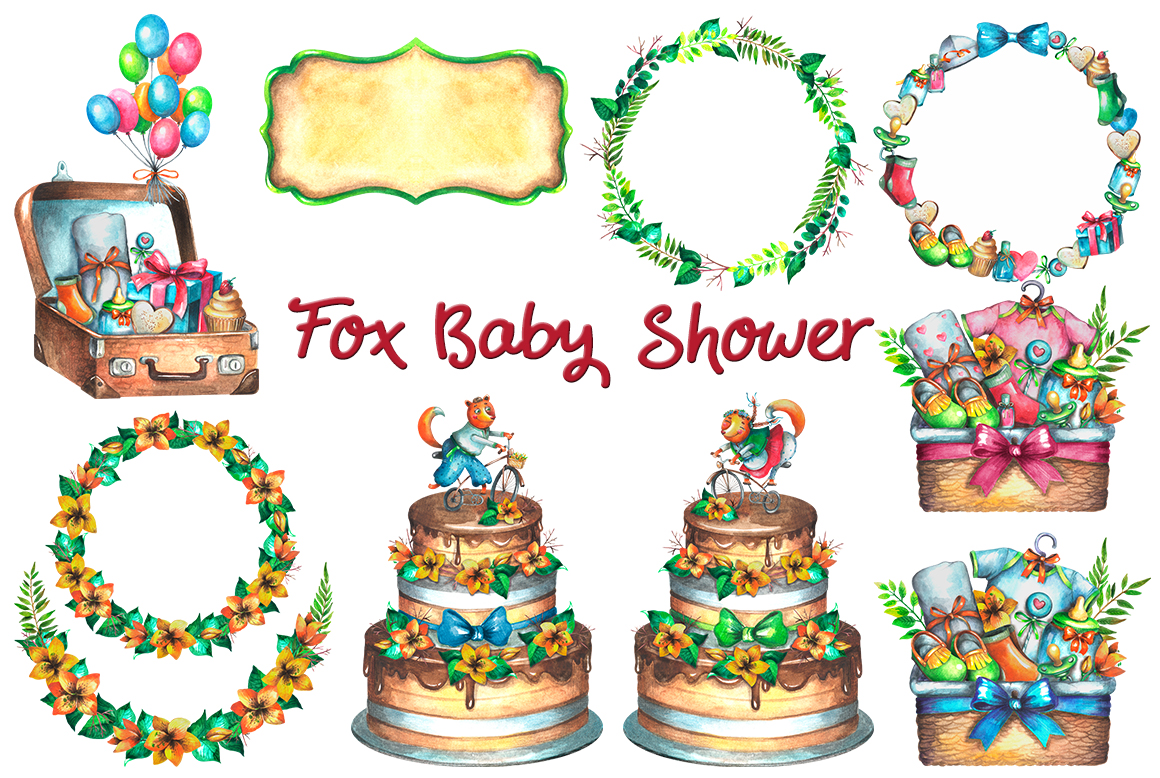 Fox Baby Shower example image 4