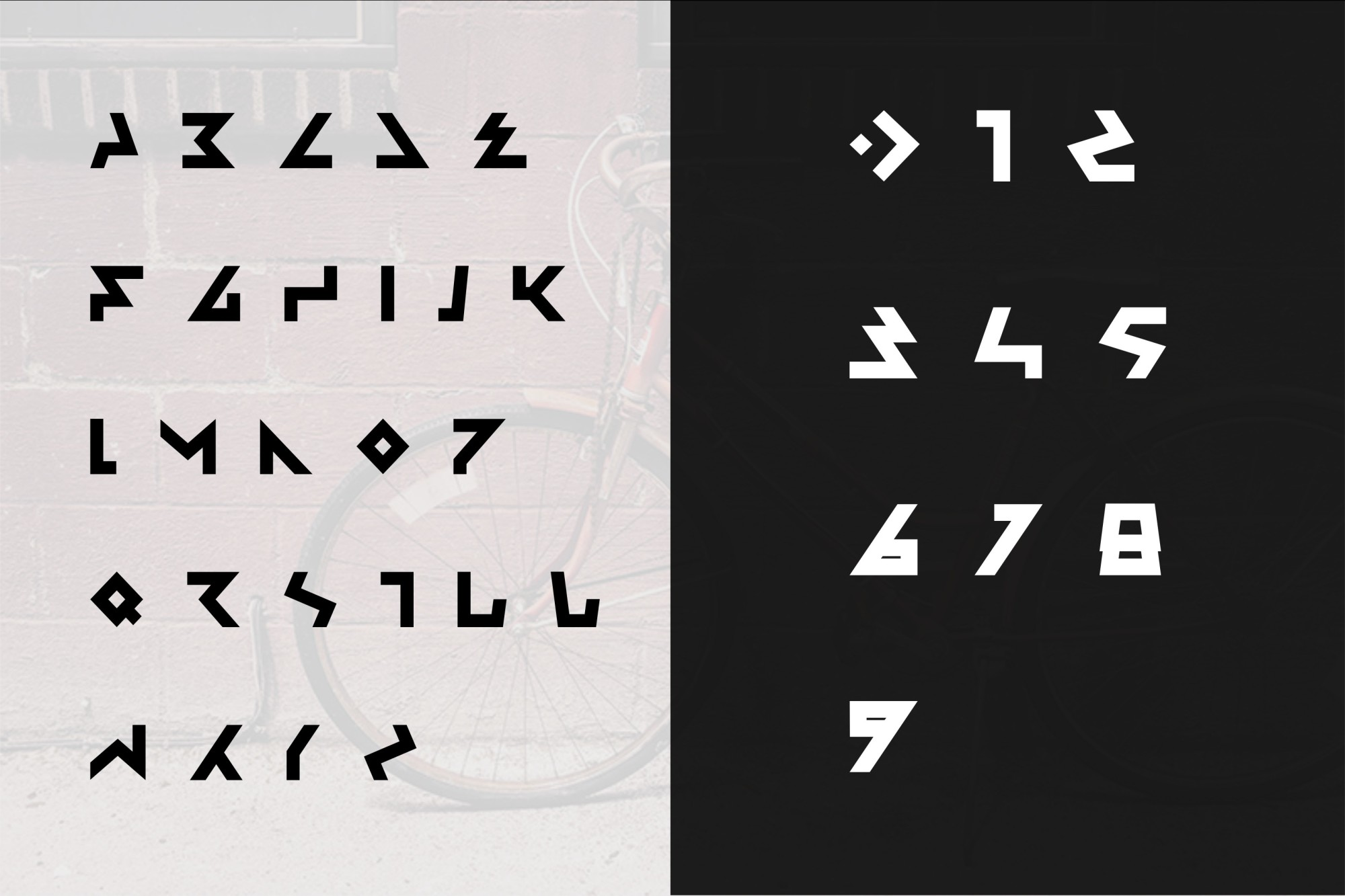 Ambisi Typeface Font example image 4