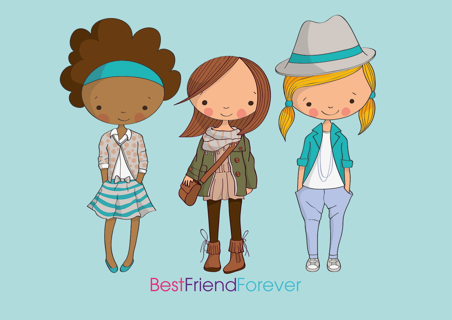 BFF Best Friends Forever example image 5