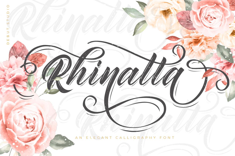 Rhinatta Script example image 2