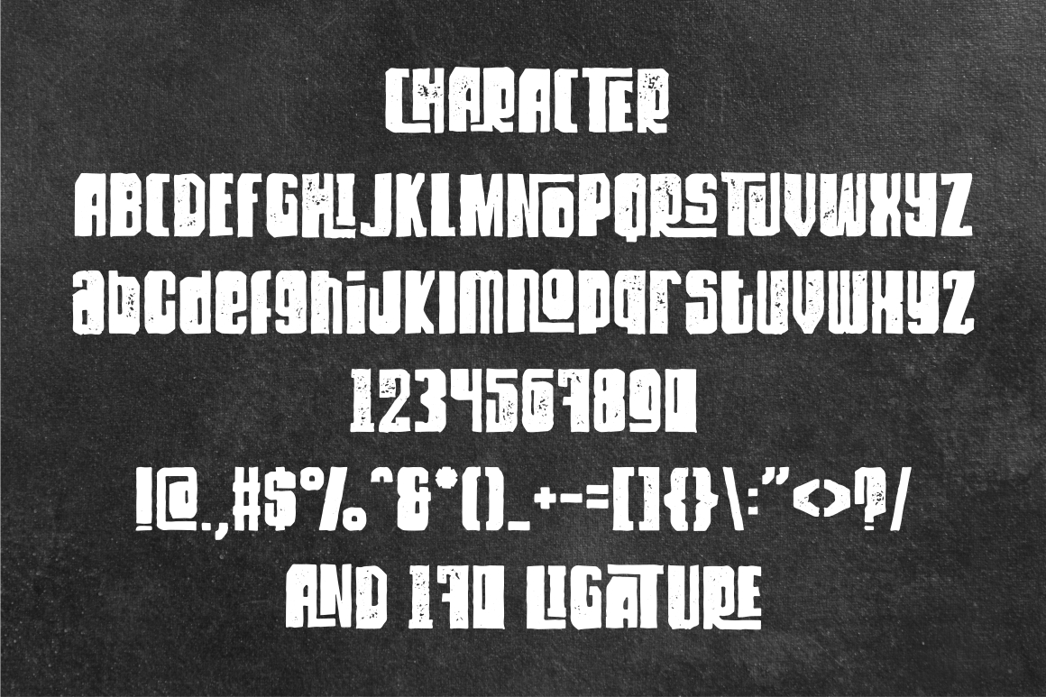 Dirty Rock Typeface example image 8