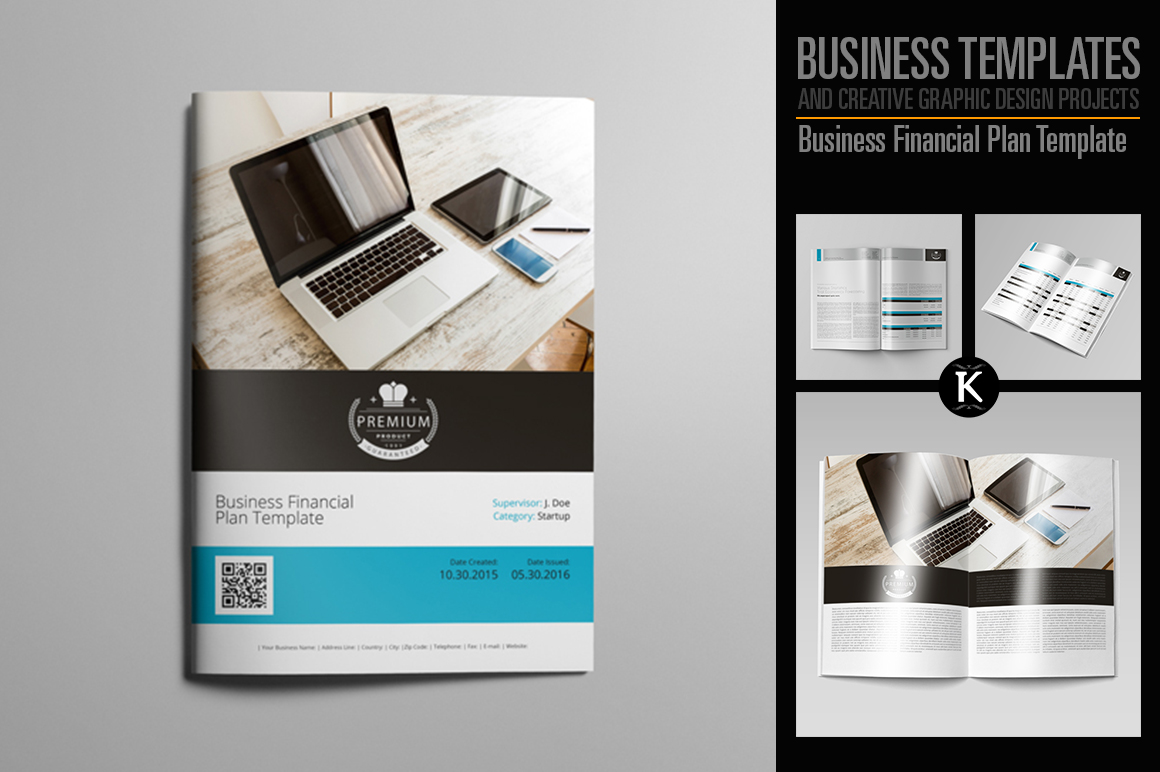 Business Financial Plan Template example image 1