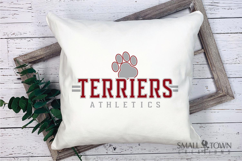 Terrier, Athletics, Sport, Team, Logo, PRINT, CUT, DESIGN example image 3