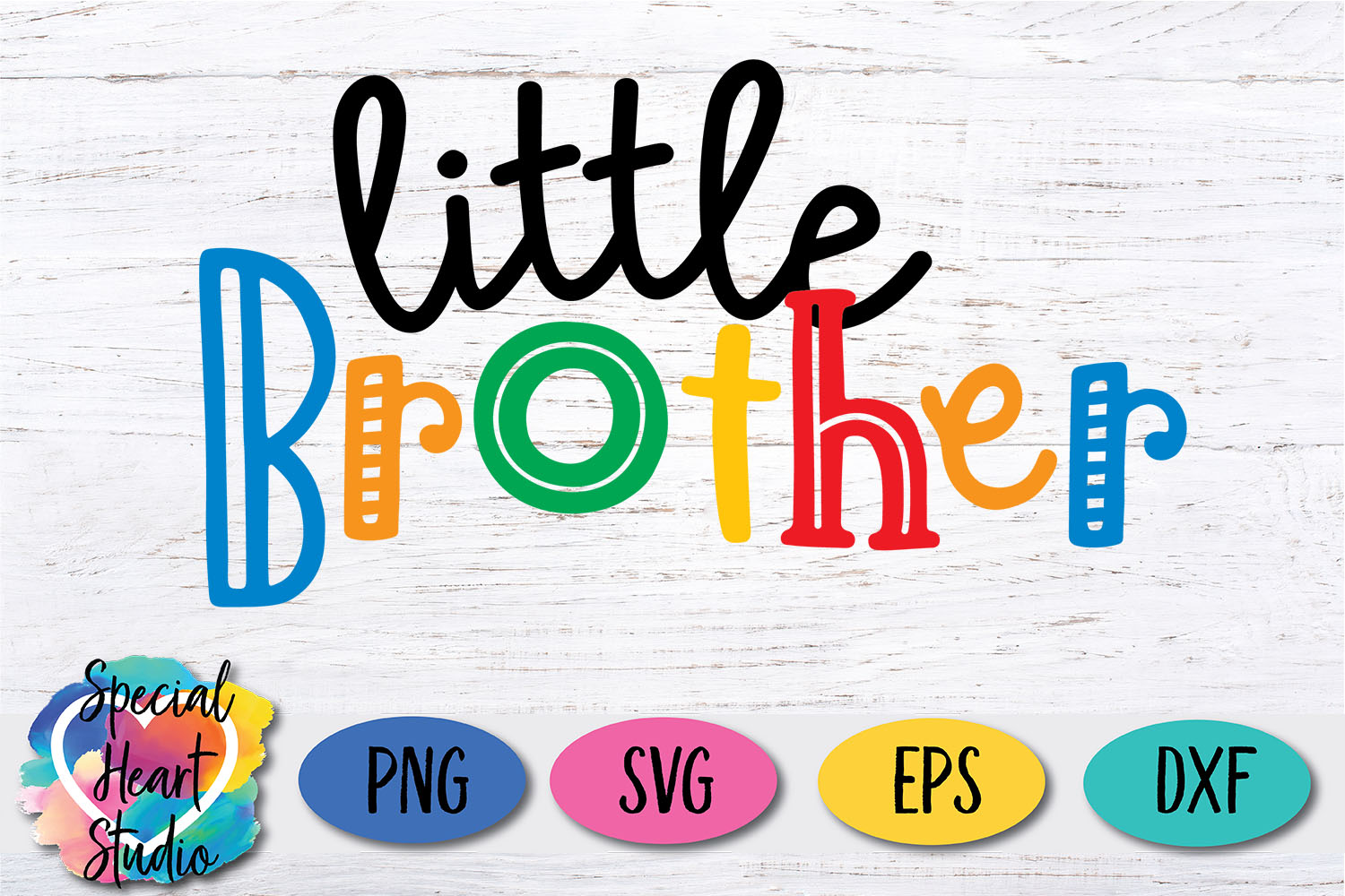 Little Brother - A family and sibling SVG example image 2
