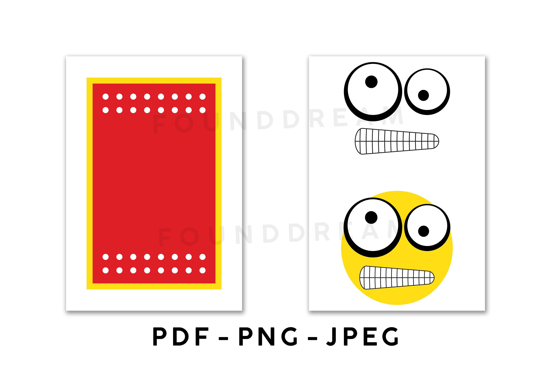 Favor Bag Template | PDF | PNG | JPEG example image 5