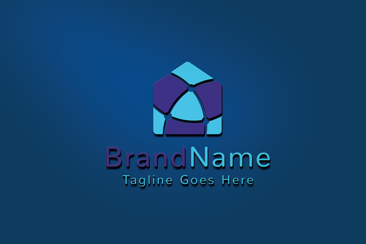 Global Network House Logo example image 3