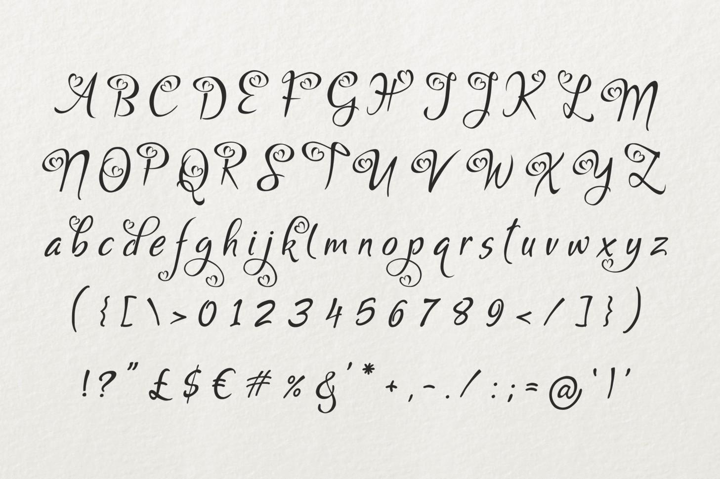 Bigdey Font example image 2