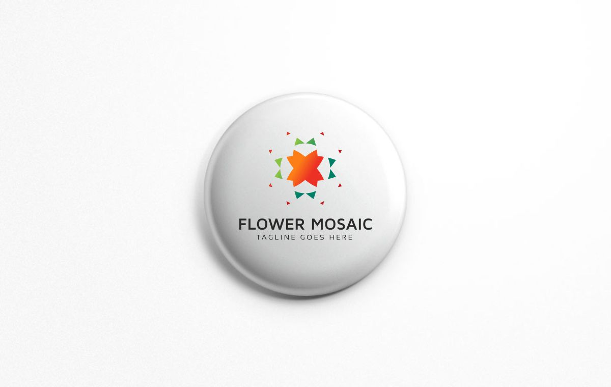 Tech Flower Logo example image 5