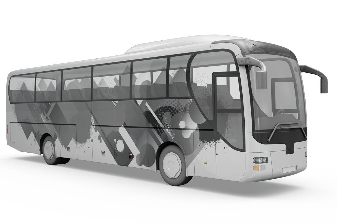 Bus Mockup example image 4