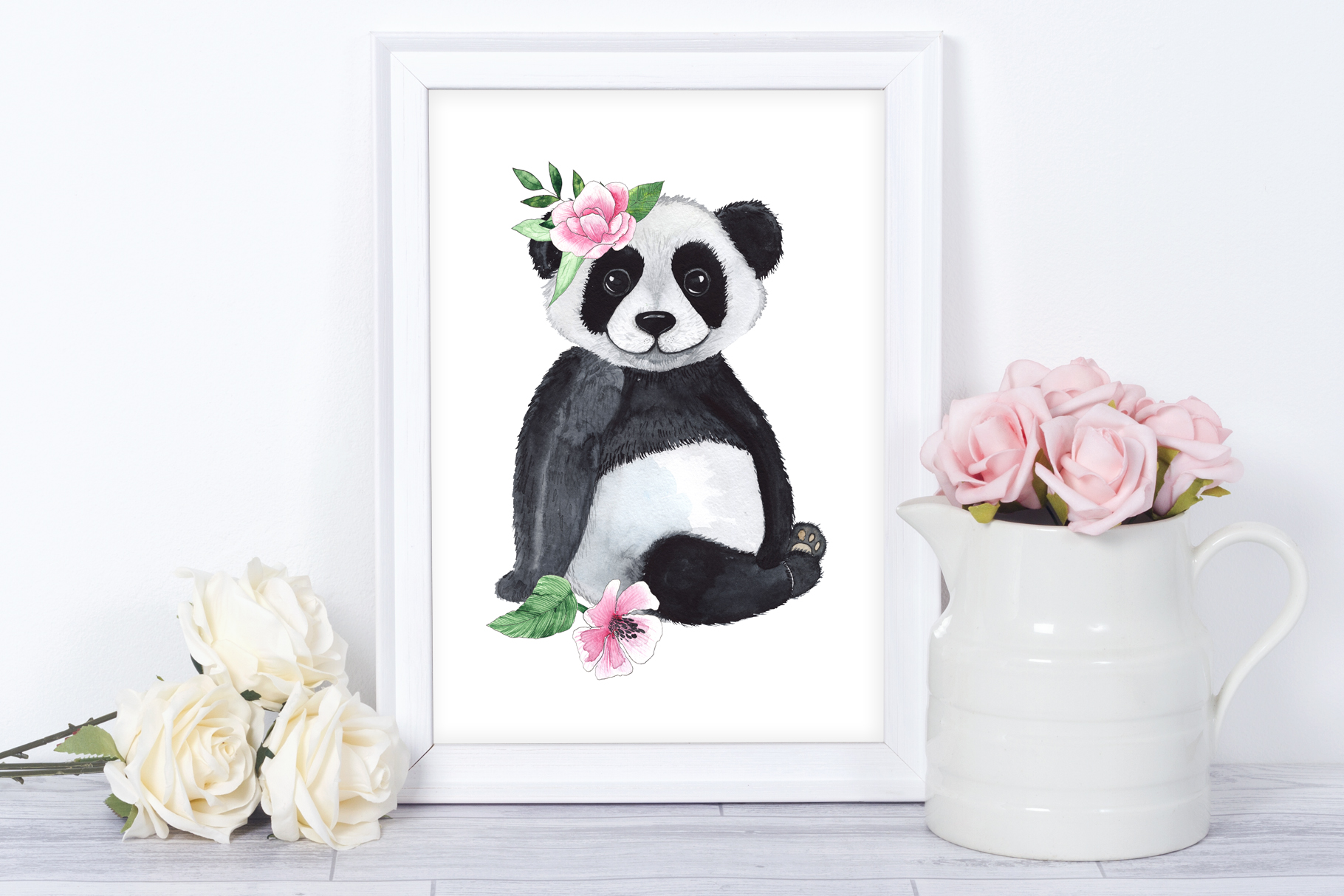 Pandas. Tropical collection example image 5