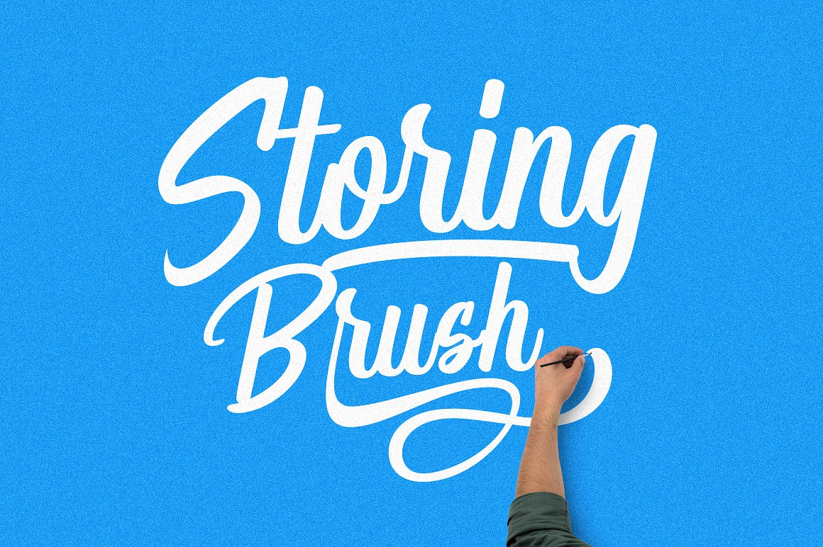 Storing Brush example image 1