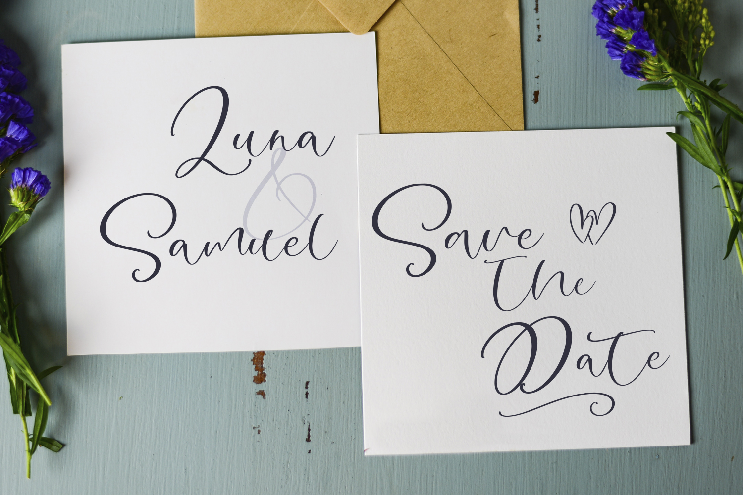 Lovely Bay Script Font example image 2
