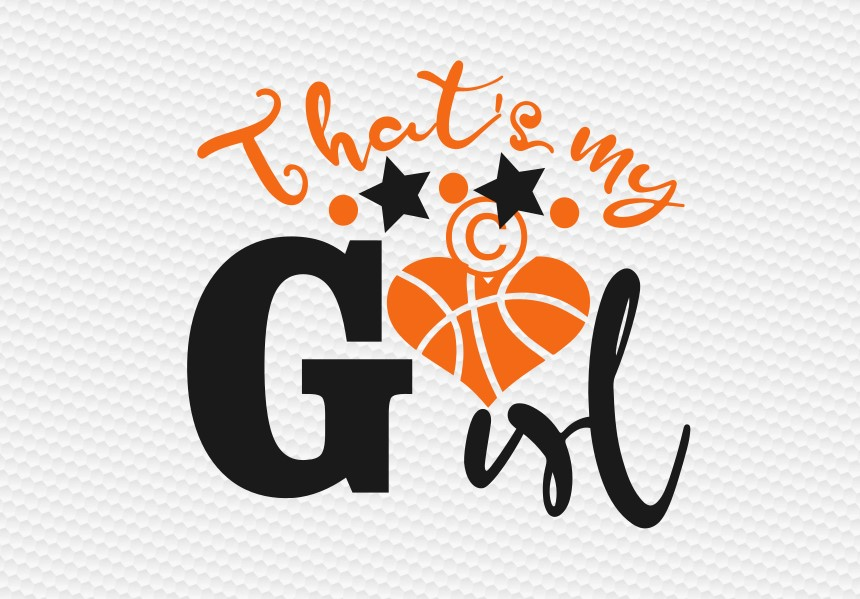 that's my girl basketball  example image 2