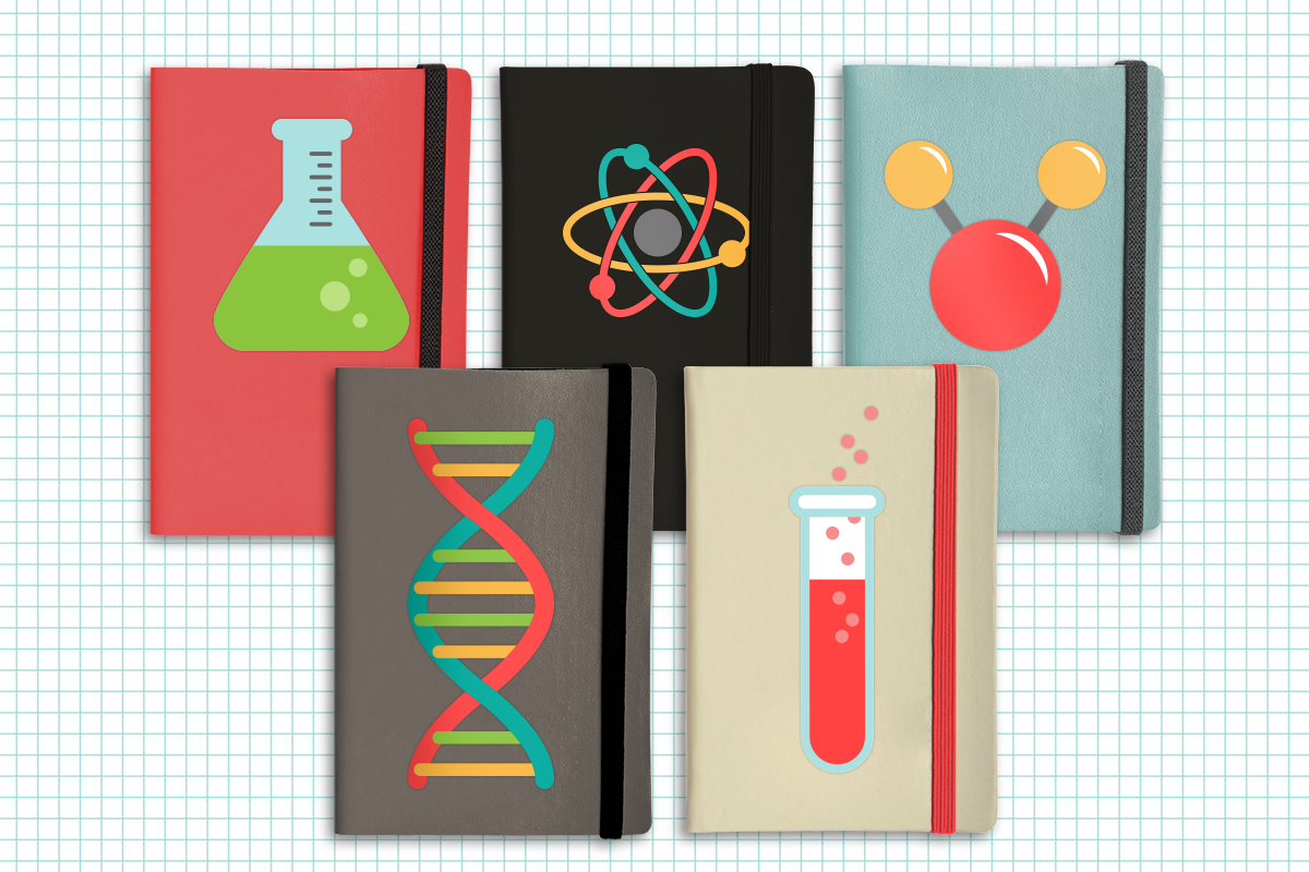 Science Symbols SVG File Cutting Template Set example image 4