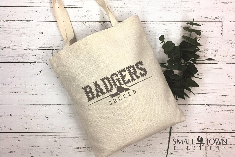 Badger, Badger Soccer Team, Sport, PRINT, CUT & DESIGN example image 4