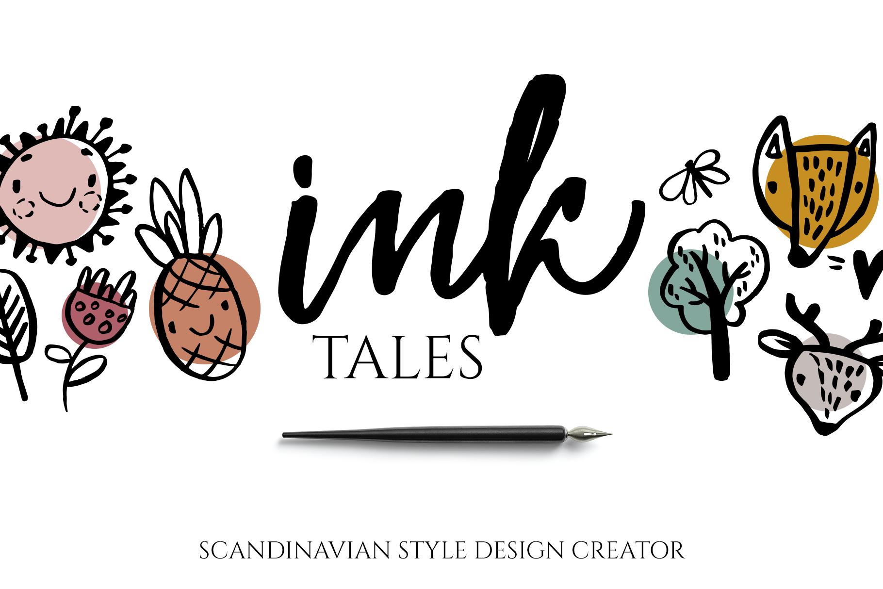 Scandinavian ink design creator example image 1