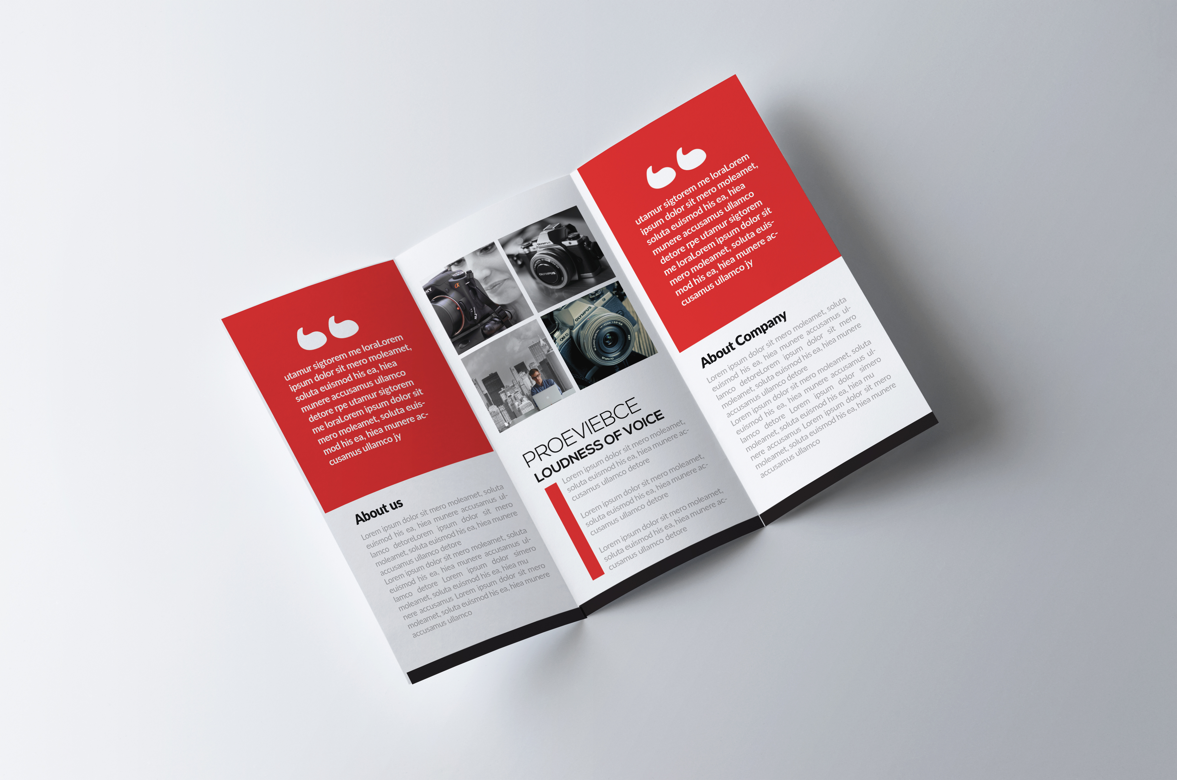 Trifolds Brochures Print Templates example image 2