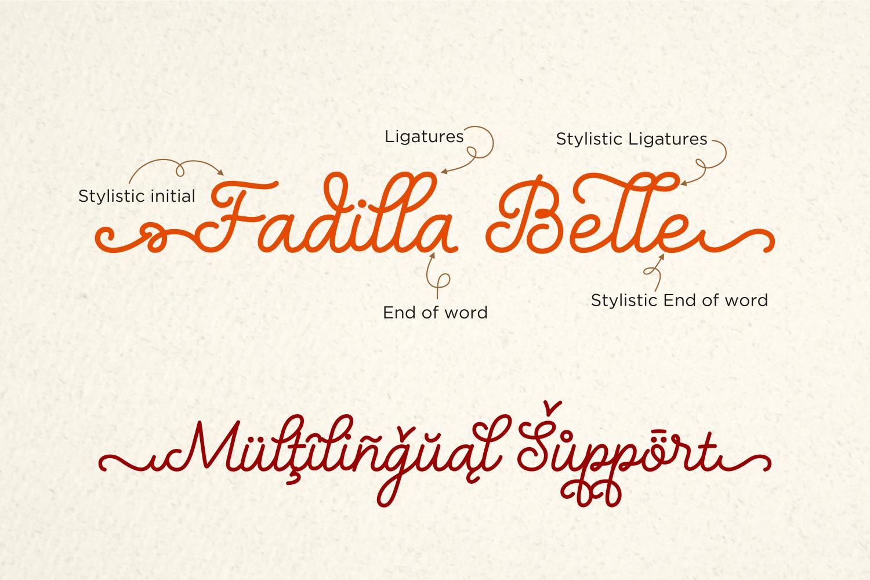 Nellyana Script example image 2