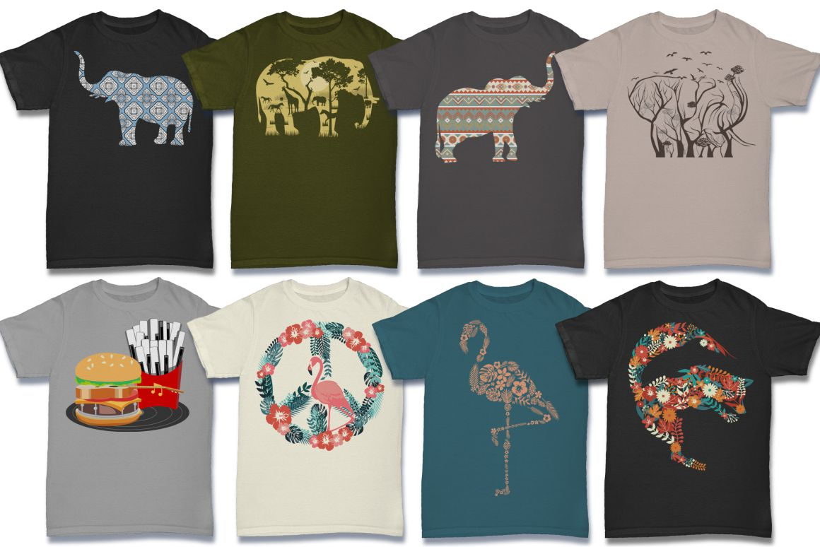 103 Tshirt Designs Mega Bundle example image 6