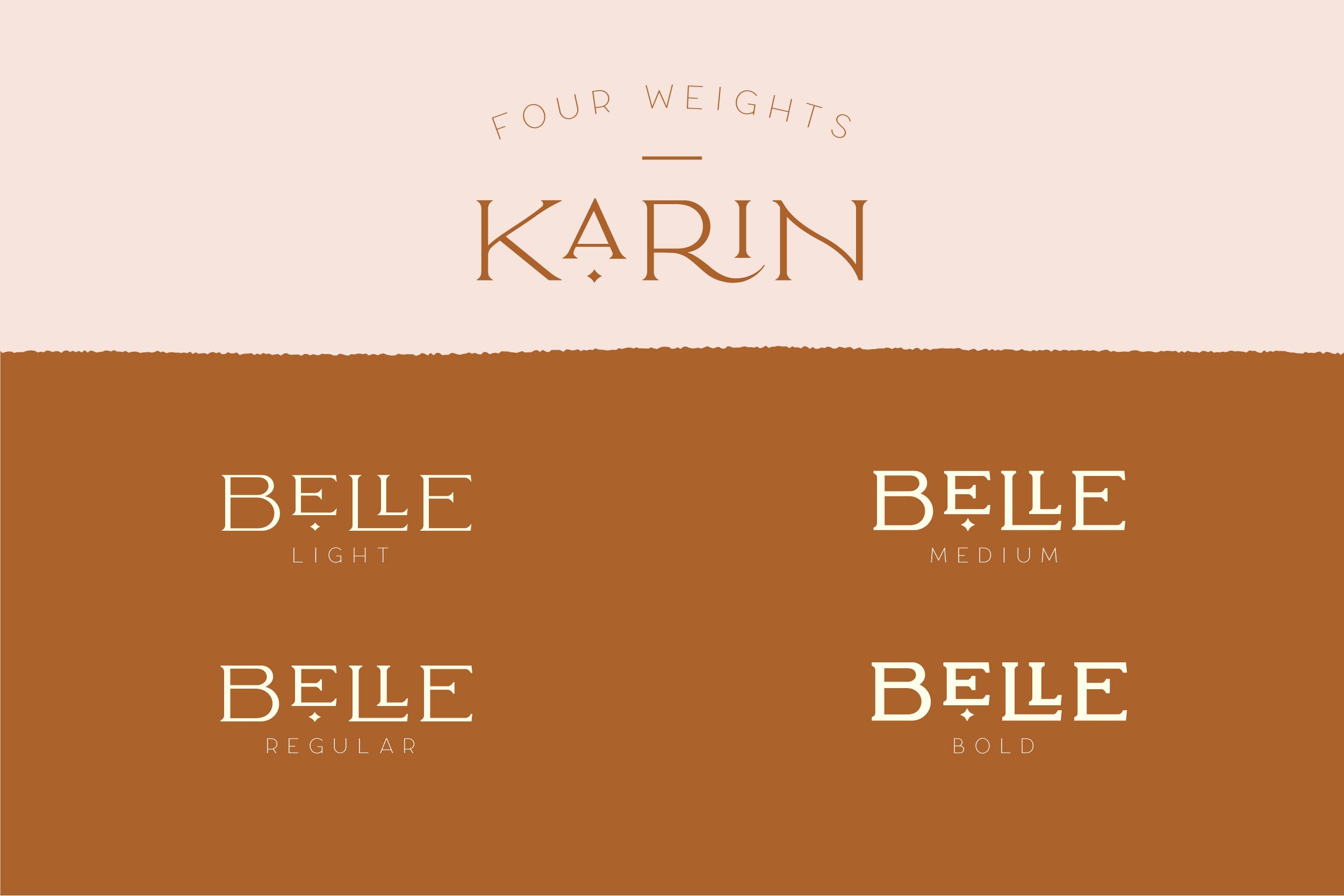 Elegant Karin - Fashion Stylish Typeface example image 26