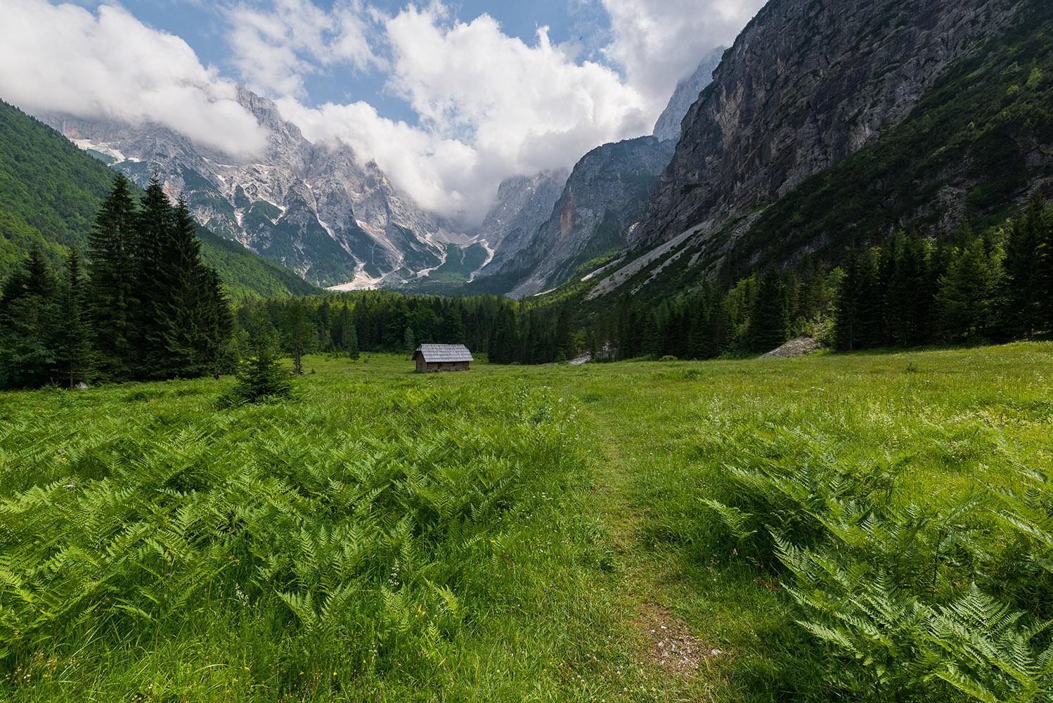 Landscape in Krnica valley example image 1