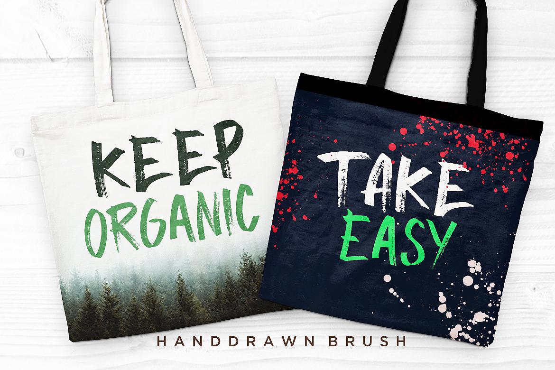 Halowyne Handdrawn Brush example image 5