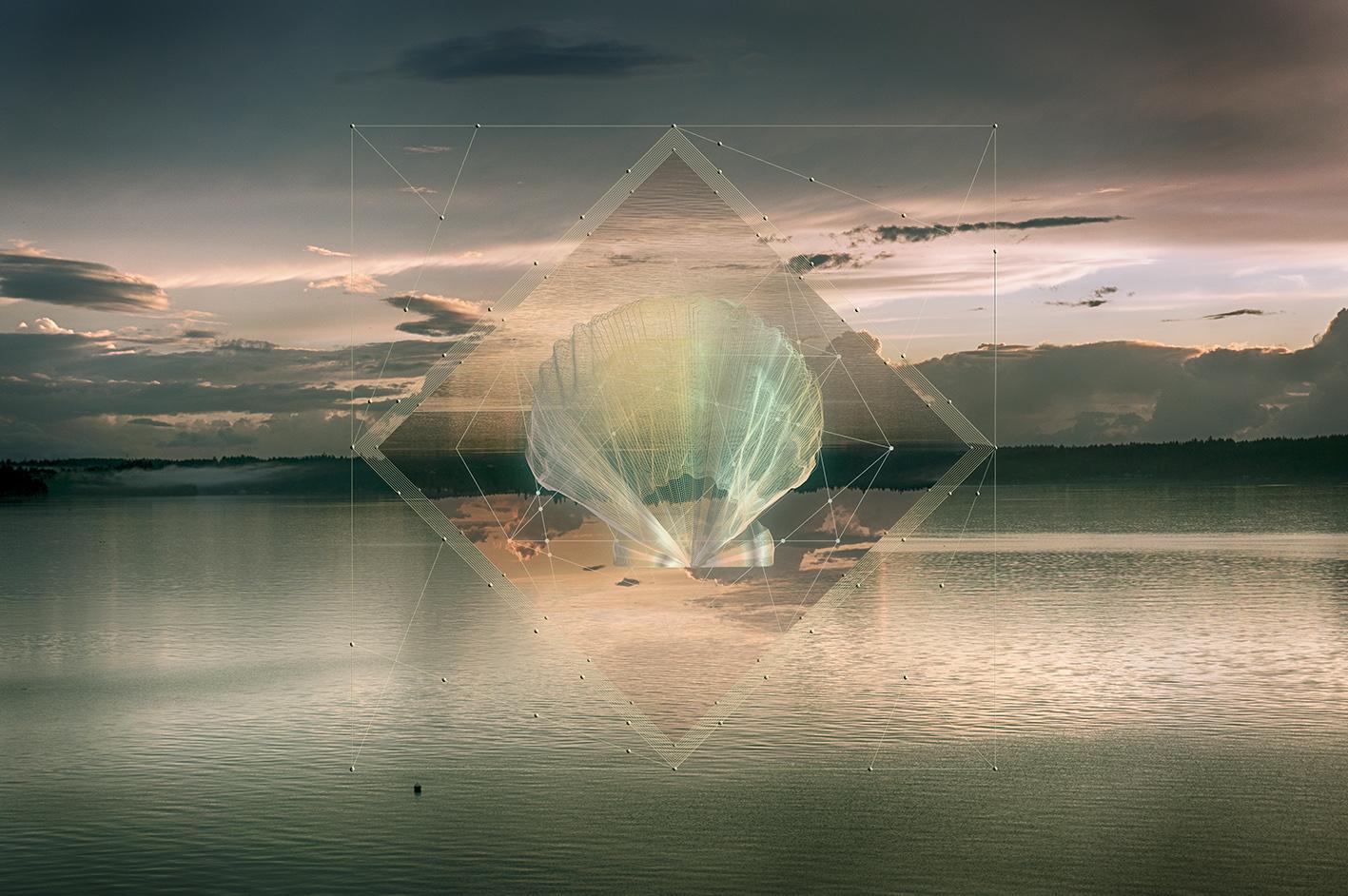Ethereal Seashells example image 3