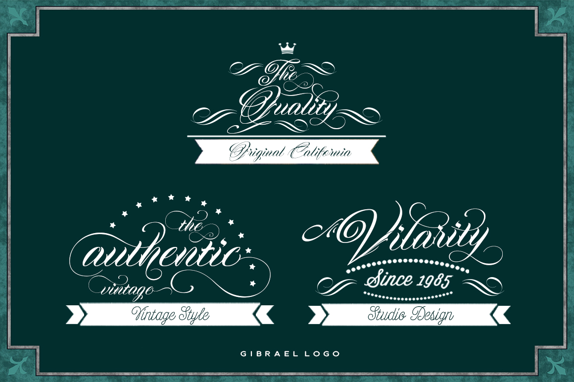 Gibrael | Font example image 6