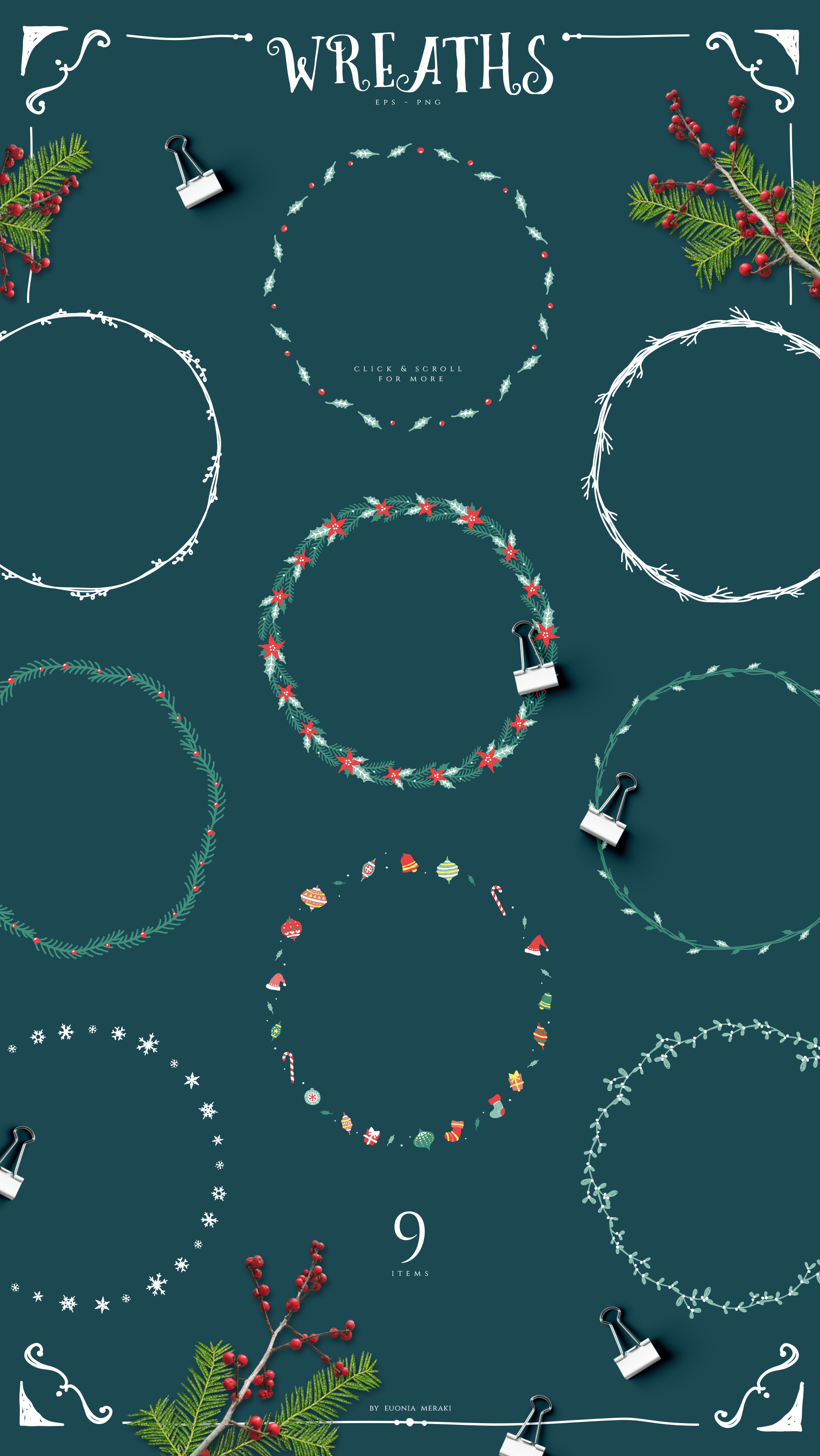 Christmas Joy - Cute and Festive Graphic Pack example image 6