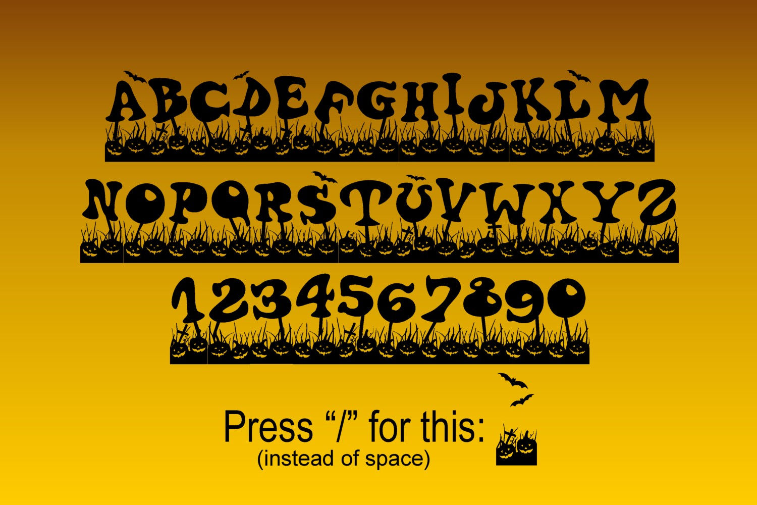Haloven Font example image 2
