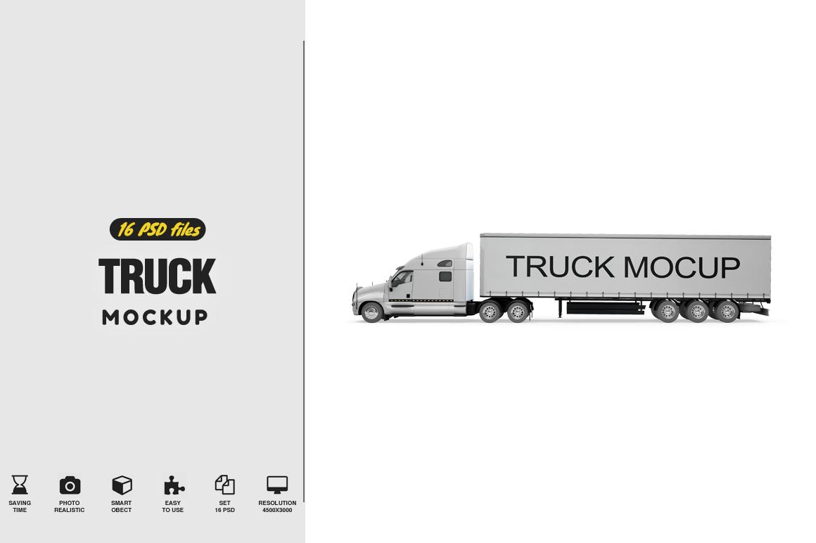 Truck Mockup example image 1
