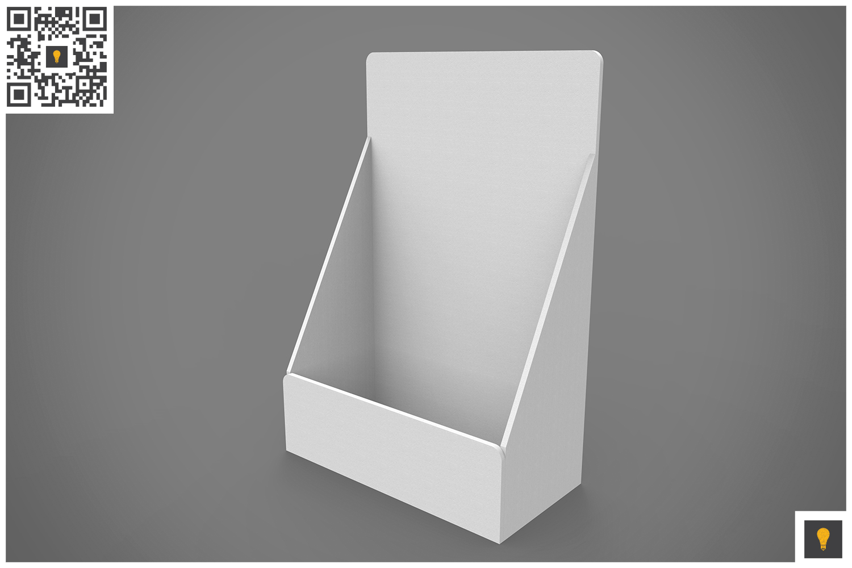 Table Top Display 3D Render example image 4
