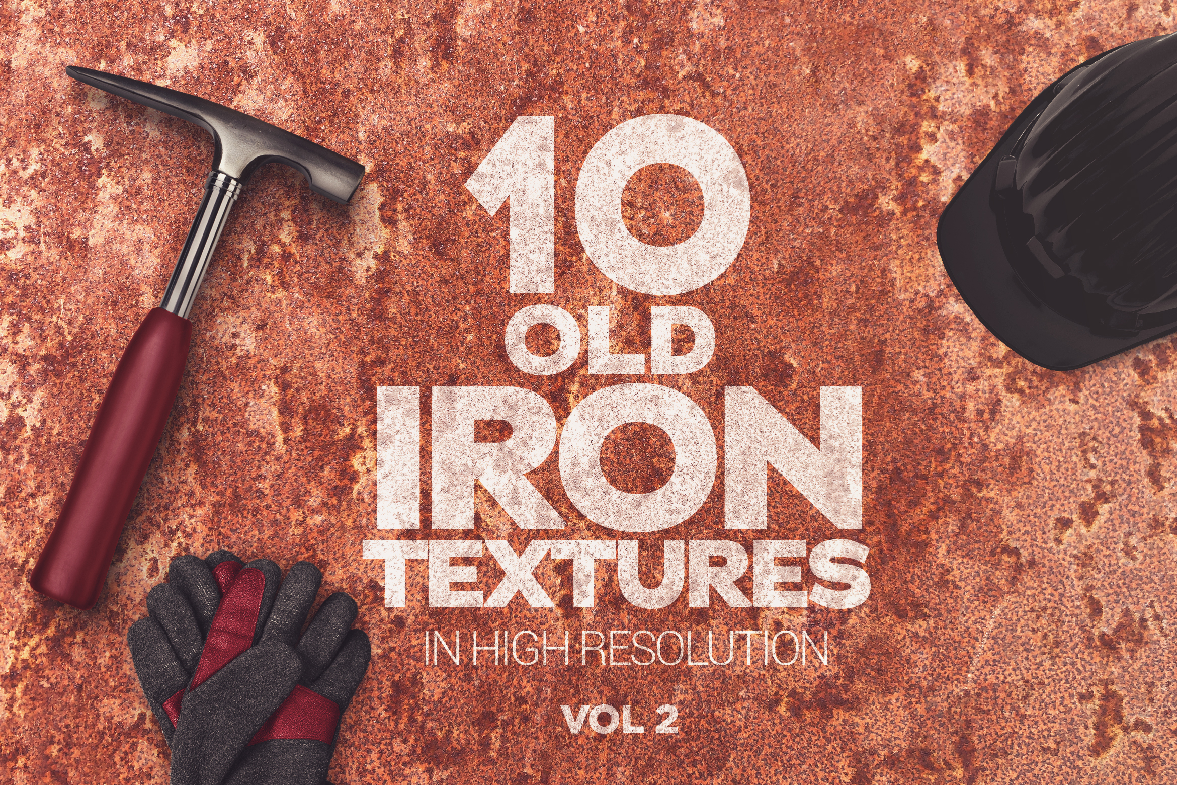 Old Iron Textures x10 vol2 example image 1