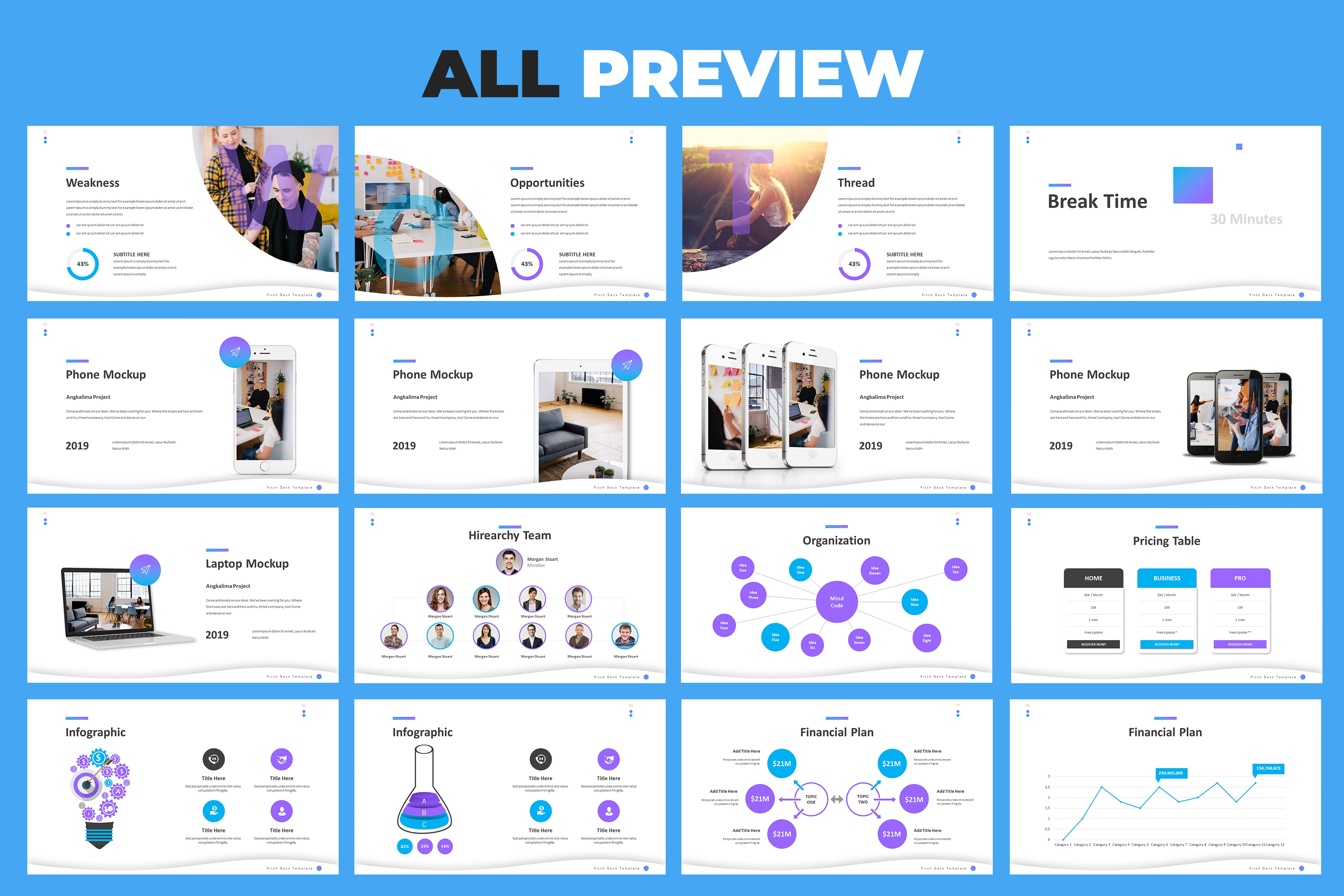 Pitch Deck Powerpoint Template example image 7