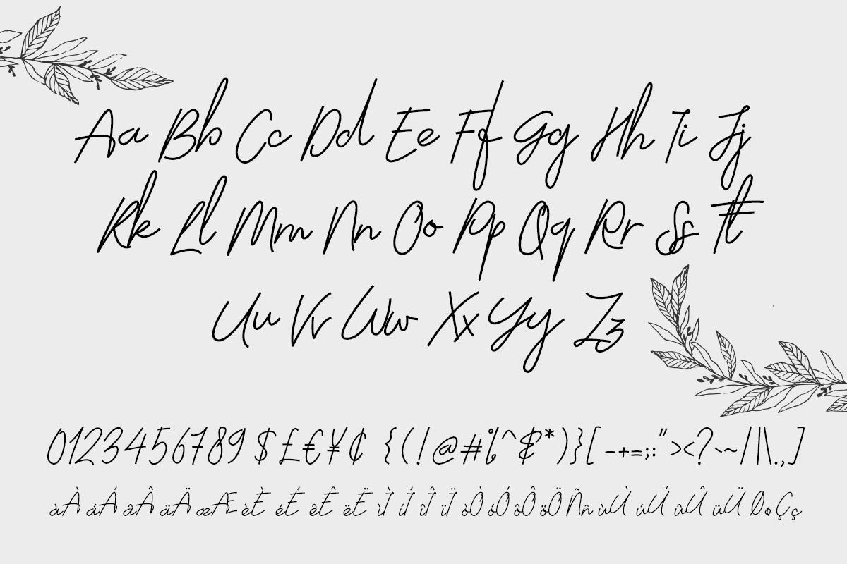 Moscato Script example image 6