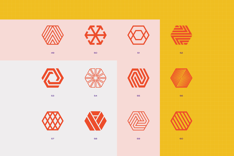 96 Geometric shapes & logo marks VOL.2 example image 12