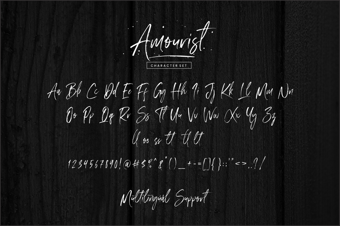 Amourist - Handwritten Font example image 9