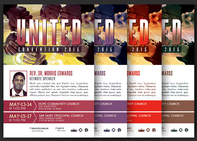Church Convention Flyer Template example image 4