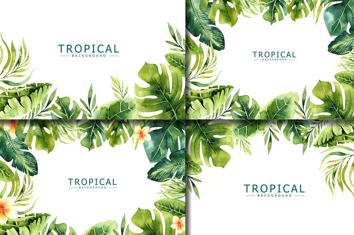 Tropical set I example image 5