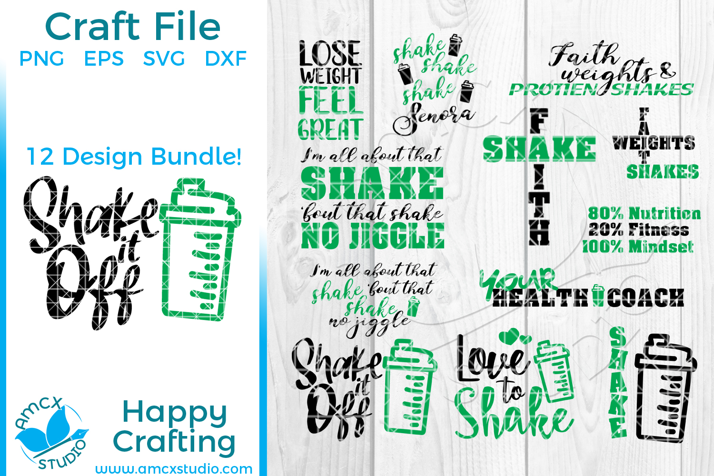 Healthy Shake Big Design Bundle example image 1