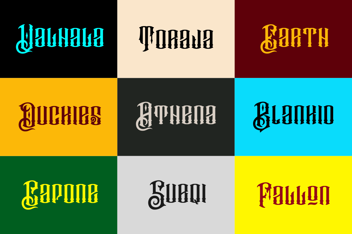 Barakah Typeface  Extras example image 3