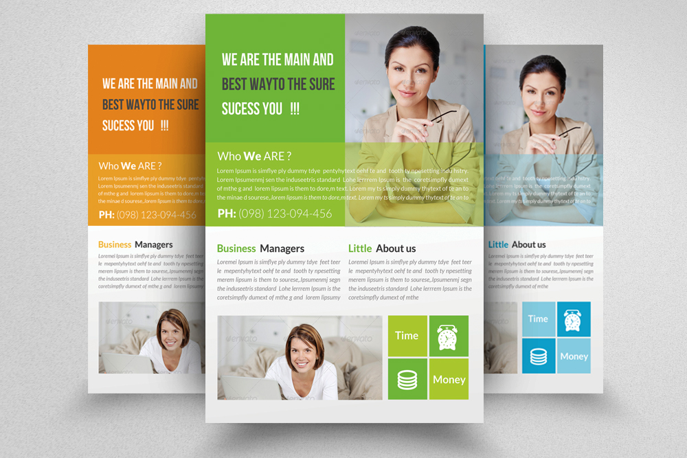 6 Professional Business Flyers Bundle example image 2