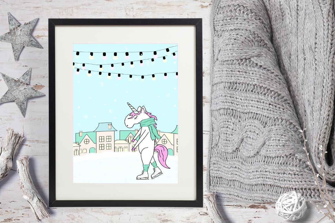 Unicorn's winter  example image 6